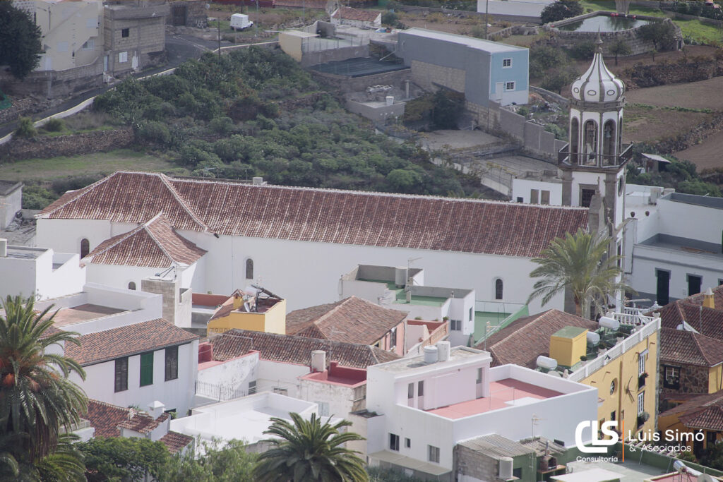 Vistas de la capital desde nuestra asesoría fiscal en Granadilla de Abona